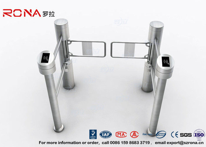Low Noise Electric Swing Gates Stainless Steel Entrance For Motorcar Control